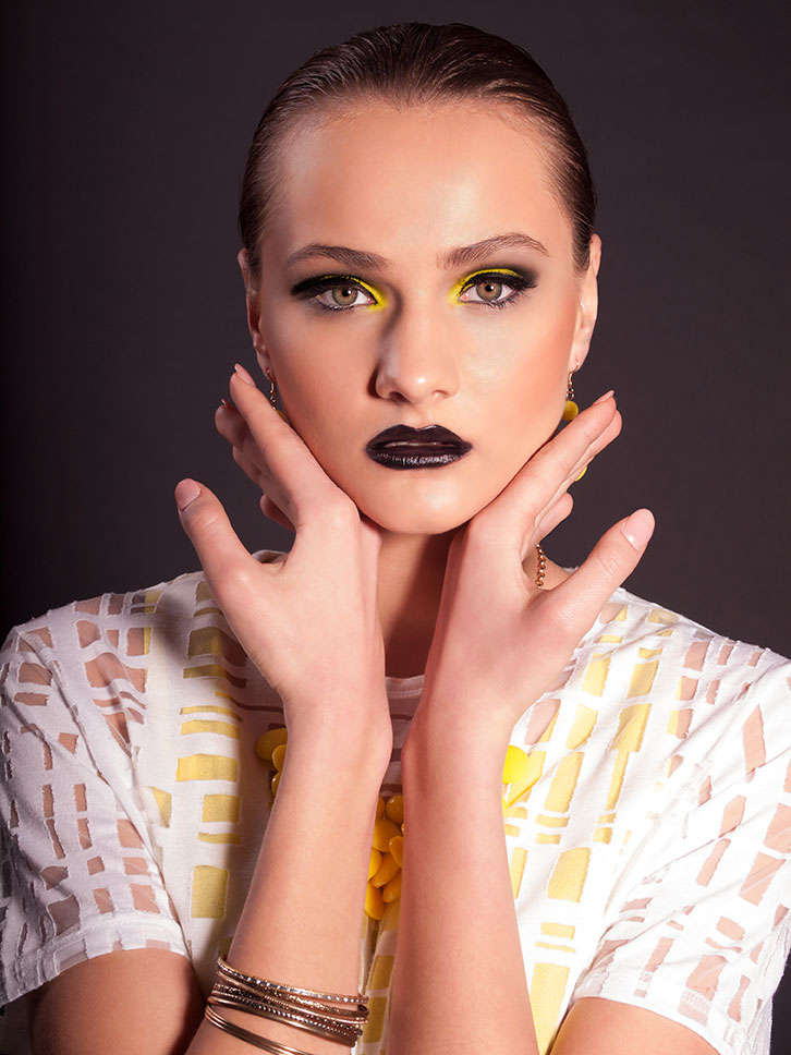 "Beauty Shoot ""Black and Yellow"""